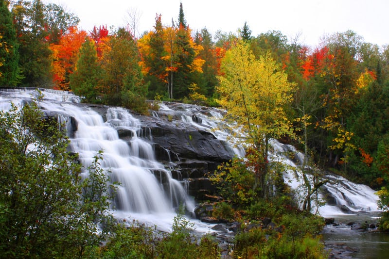 Take a road trip in Northern Wisconsin, Waterfalls of the Upper Peninsula of Michigan