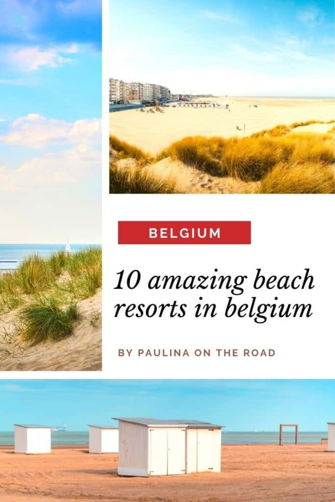 Did you know that Belgium boasts amazing beaches? This guide by a former local takes you to the best beach resorts in Belgium. Find out about the best beaches in Belgium and fall in love with seaside towns like Ostende, Knokke or De Panne. Indeed the seaside of Belgium is gorgeous with its light golden sandy beaches. This travel guide to the Belgium coast will also inform you about the best hotels and food. #belgium #belgianfood #belgiumbeaches #belgiumcoast #knokke #ostende #europebeaches #beach