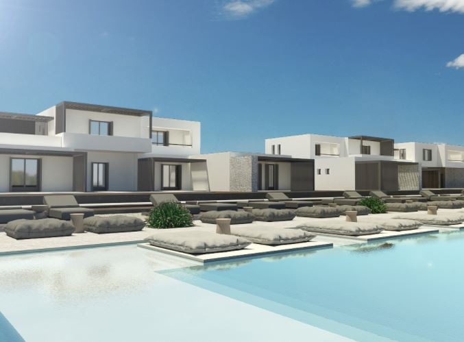 Best Luxury Hotels in Naoussa, Paros, Beautiful view of Cove Paros Hotel