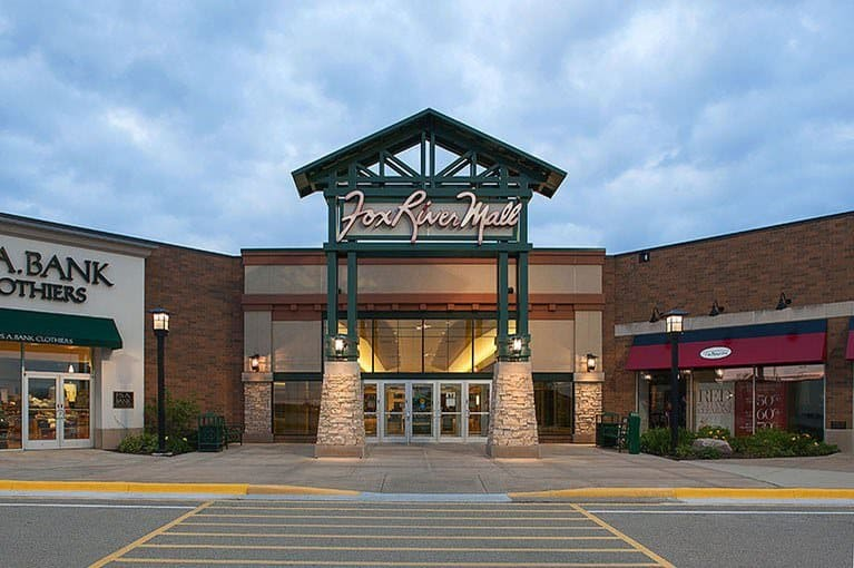 Best place to visit in appleton wisconsin, Front view of Fox River Mall