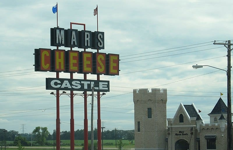 best bakery food in Kenosha, view of Mars Cheese Castle in Kenosha