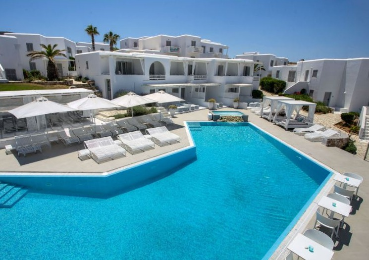 Best Luxury Hotels in Paros with Spa, Pool View with best hotel view