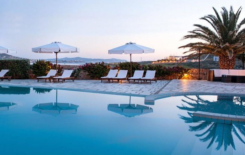 Best Luxury Hotels in Paros, Greece, best view of Paros Agnanti Hotel