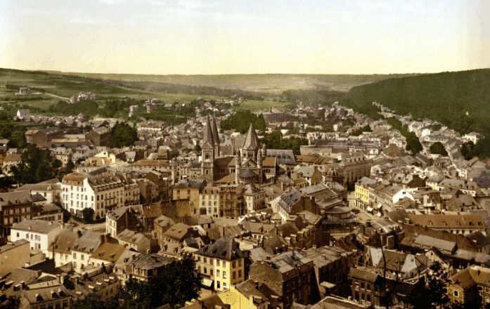 One of the best towns in Belgium, City view of Spa
