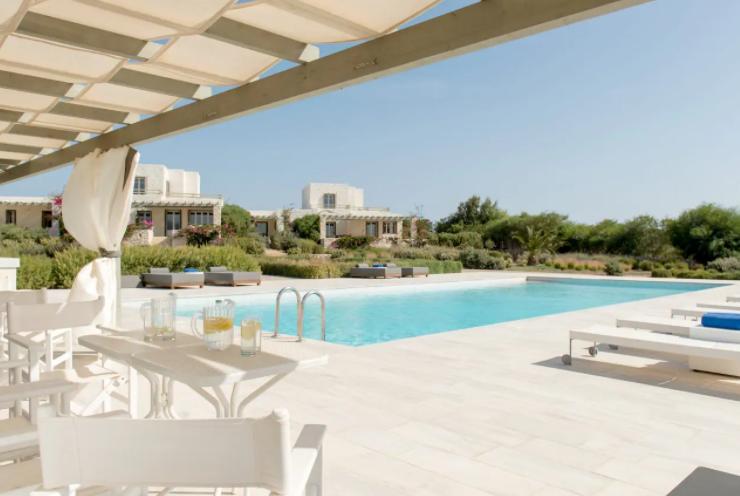Amazing Villa Rentals in Paros, Greece, Pool View of The Stagones – Premier Villa