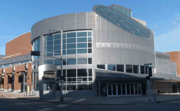 Fun things to do in Appleton, The Fox Cities Performing Arts Center (PAC) in downtown Appleton, Wisconsin