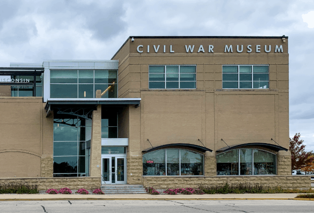 Amazing things to do in Kenosha, Wisconsin, view of Civil War Museum