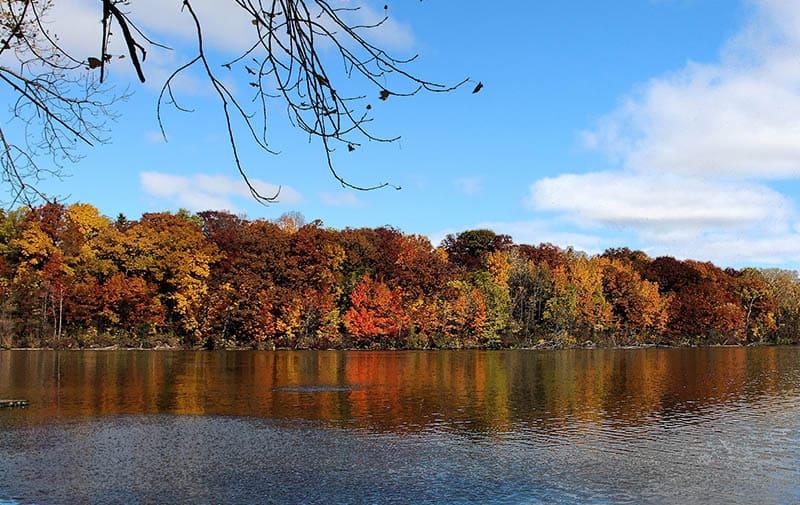 beautiful rivers in appleton, Wisconsin, Beautiful views of the Lower Fox River