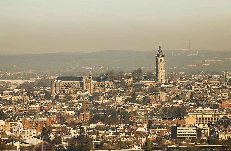 Best places of interest in Belgium, City view of Mons
