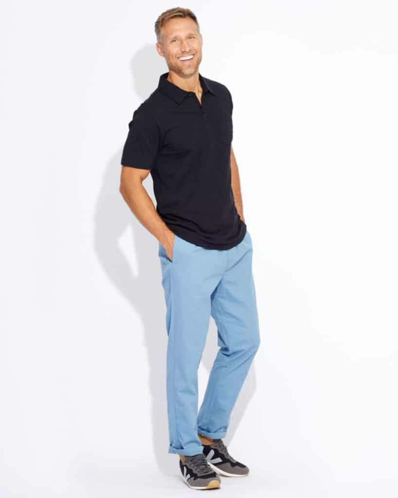 pact sustainable fashion for men