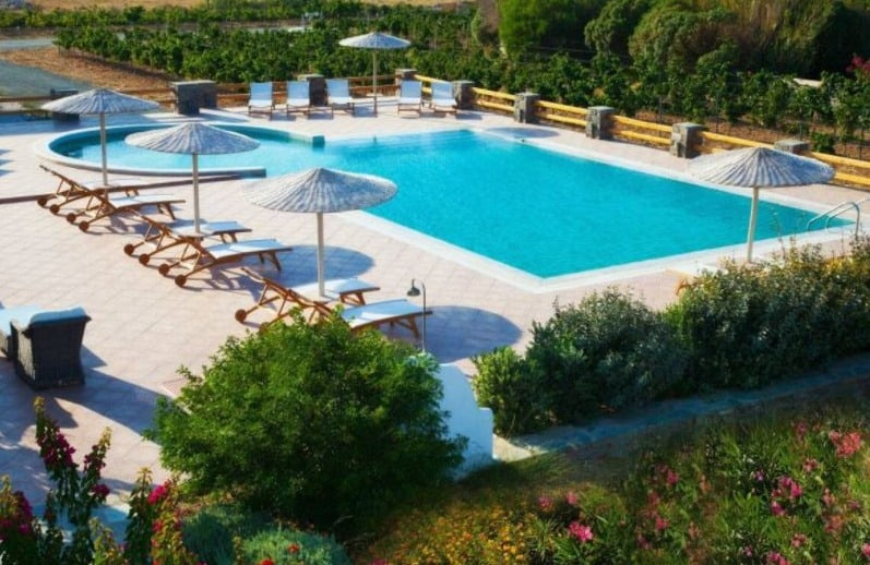 Best Holiday Villas in Naoussa, Paros, View of 5 villas in Naoussa Paros