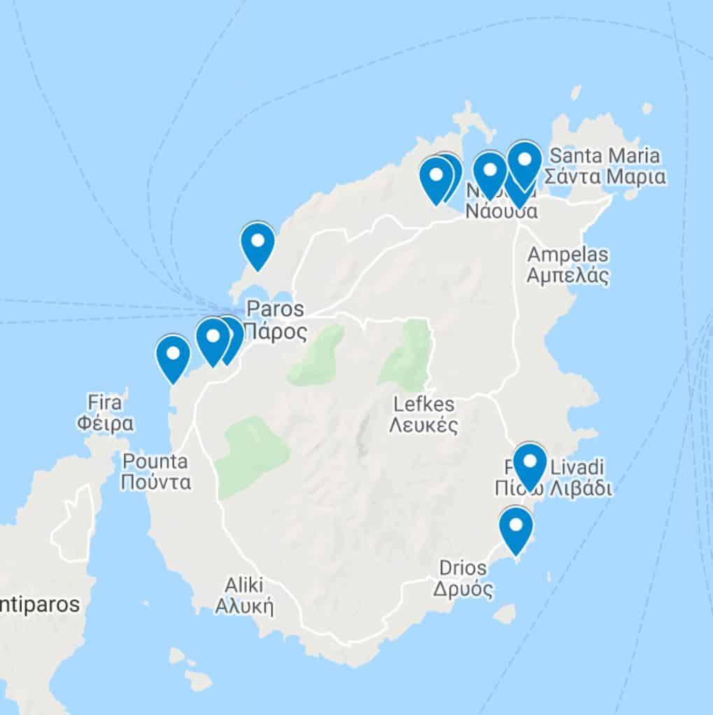 Best Luxury Hotels in Paros Island Greece
