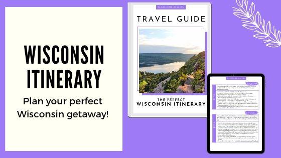 wisconsin itinerary