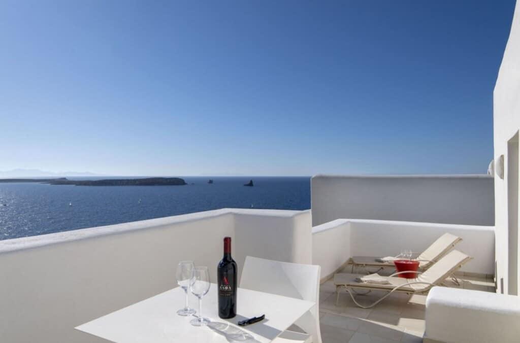 Best Luxury Hotels in Paros, Greece, best view of Archipelagos Resort & Villas
