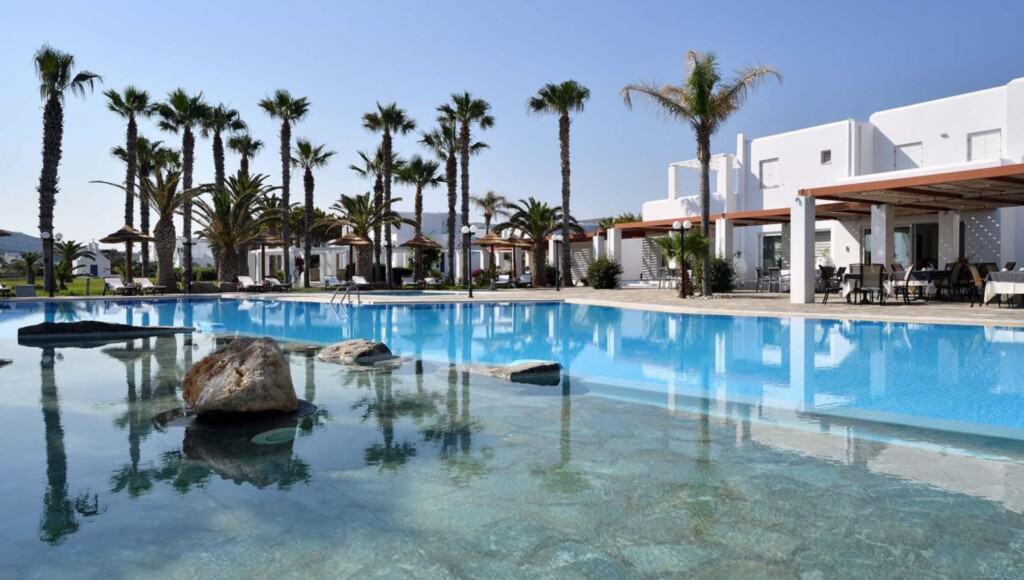 Best Luxury Hotels in Paros, Greece, Top view of Astir of Paros