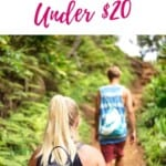 Are you looking for cool gifts for outdoorsy people? I pulled together an extensive list of 25 gifts for outdoor lovers. The best is that none of them costs more than $20. That means you don't need to break your budget when looking for outdoor lover gifts. No matter whether you have an outdoorsy boyfriend or outdoorsy kids, this selection has something for everybody and mostly for every budget. If you are looking for gifts for outdoorsy women too, this list is for you! #outdoorgifts #outdoorlovers