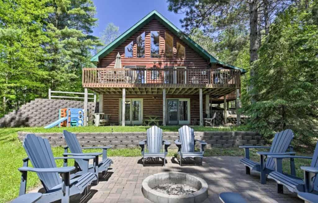 hazelhurst luxury cabin north wisconsin