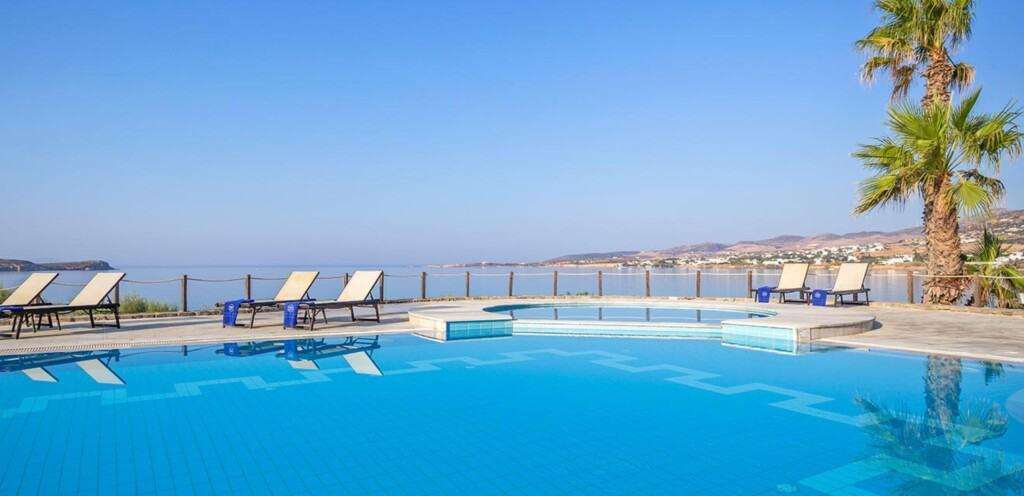 Best Luxury Hotels near Parikia, Paros island, Best beach view of hotel, poseidon of paros