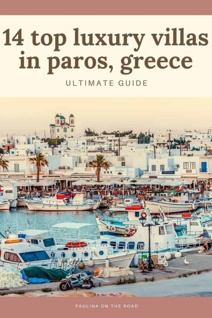 Are you looking for amazing luxury villas in Paros, Greece? This is a hand-picked selection of holiday villas to rent in Paros island, Greece. No matter whether you are looking for villas near Naoussa, or luxury villa rentals near Parikia, the capital of Paros, Greece, I got you covered with this guide. Find a selection of holiday rentals in Paros to spend the best holiday on this Greek island. Instead of staying in Luxury Resorts of Paros, take a luxury villa. #paros #parosvilla #parosluxury