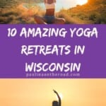Are you looking for yoga retreats in Wisconsin? This guide by a certified yoga teacher has been created to take you to the best yoga retreat centers in Wisconsin. Find your inner peace, unwind and just connect with the beautiful nature of Wisconsin. Do something good to your soul and visit these yoga places that come often with a spa and other wellness facilities. It's thus great when looking for spas in Wisconsin too! Wisconsin spa to unwind #wisconsinyoga #wisconsin #wisconretreat #yogaretreat