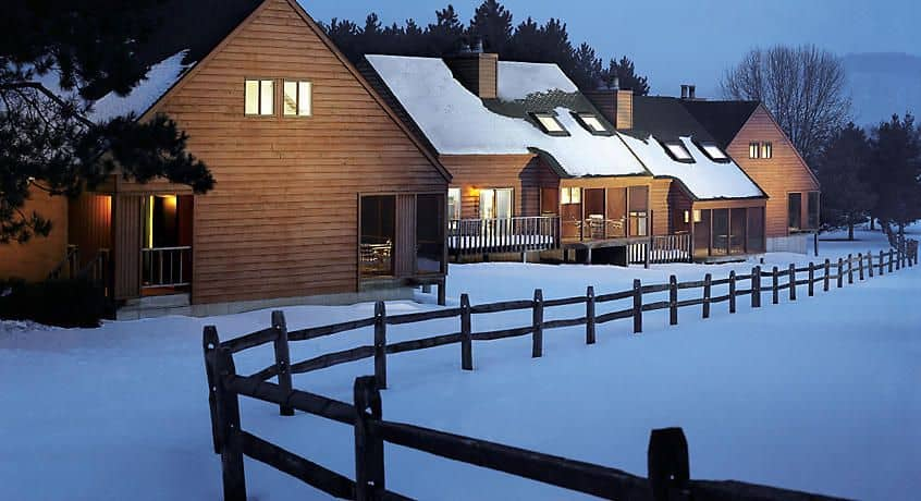 Best christmas cabin rentals wisconsin, best view of Christmas Mountain Village Resort fully stocked