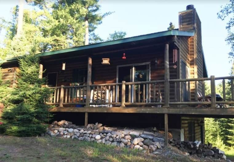 Best cabin towns in wisconsin, View of Private & Quaint Cabin in Mercer – Mercer