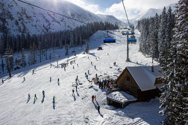 highest ski resort in Wisconsin, Beautiful view of Trollhaugen - Dresser