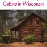Are you looking for the best pet-friendly cabins in Wisconsin? Get the ultimate list inc. pet-friendly cabins in Wisconsin Dells, cabins in Door County, pet-friendly cabins in South, North, and Central Wisconsin. When looking for pet-friendly accommodation these vacation homes in Wisconsin are a great idea for a getaway with your furry friends. Indeed holiday rentals in Wisconsin are perfect since they come with large outdoor space. This list comes with cottages too! #wisconsin #petfriendly #cabins