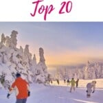 Planning to go skiing in Wisconsin and wondering about the best ski resorts in Wisconsin? This is the ultimate list with the best skiing resorts in Wisconsin including accommodation options such as hotels, spa, or romantic winter cabins in Wisconsin. Ski in Wisconsin is great fun and there are plenty of slopes in North, South and Central Wisconsin. It's thus a must when looking for things to do in winter in Wisconsin. Also skiing in Lake Geneva. #wisconsin #wisconsinski #skiresortswisconsin