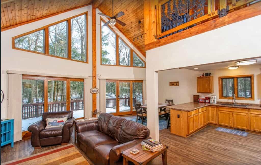 door county cabin in wisconsin pet friendly