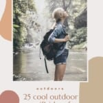 Are you looking for outdoor gifts for her? With this ultimate gift guide, you'll find outdoor gifts for women no matter what your budget is. Indeed there are plenty of great outdoorsy gifts for women under 20 or even 50 dollars. And if you want to spoil your friend, there are plenty of outdoor gift ideas above 100$ such as a cool kayak or outdoor wear that she'll use a lifetime. No matter if she likes hiking, cycling or kayaking, you'll find the perfect outdoor gift for her here. #outdoorgifts