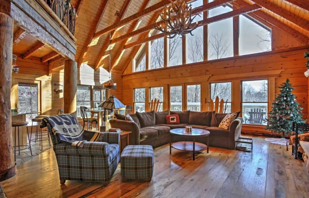 pet friendly cabin in central wisconsin gleaser