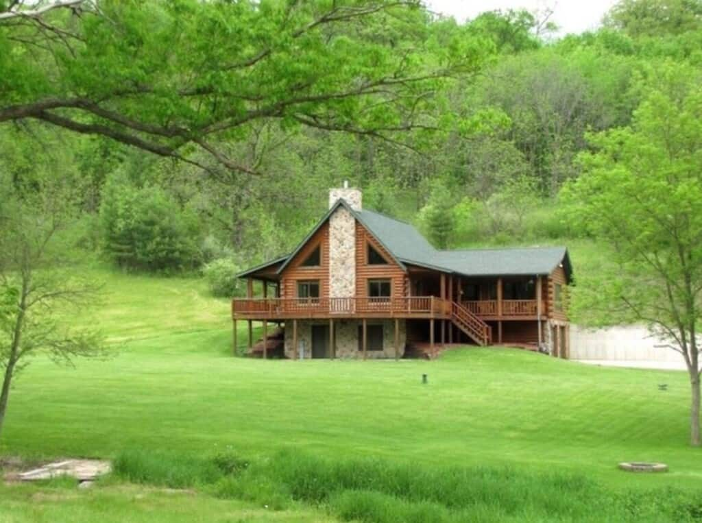 pet friendly cabin in southern wisconsin driftless escape