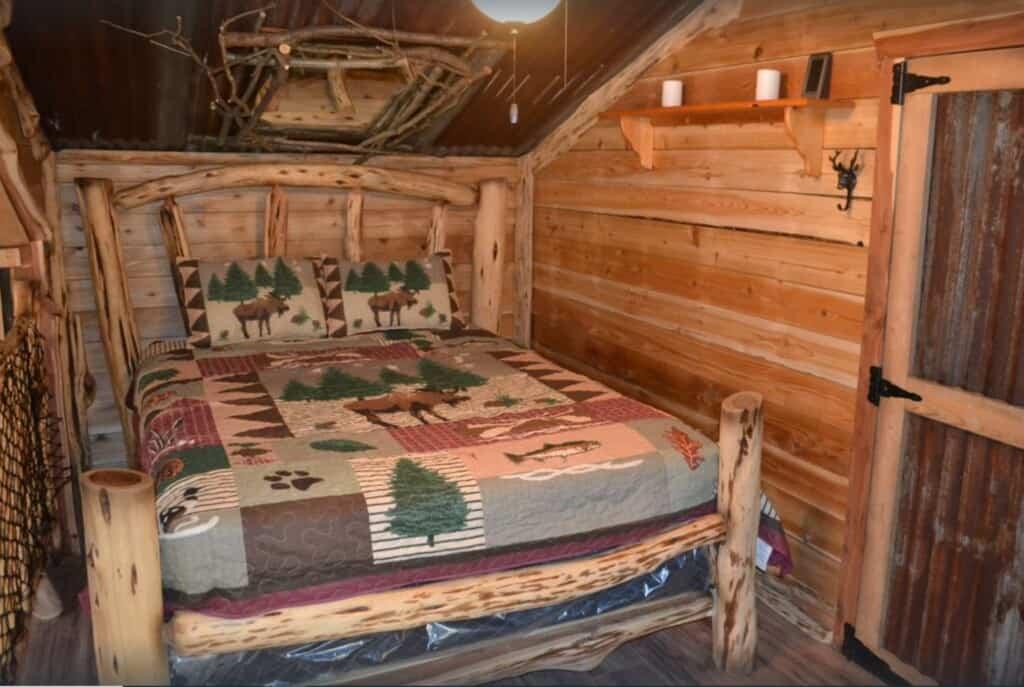 pet-friendly cabin in wisconsin dells
