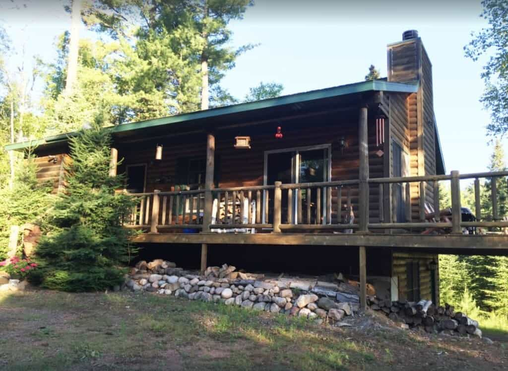 private and quaint cabin in mercer northern wisconsin cabins
