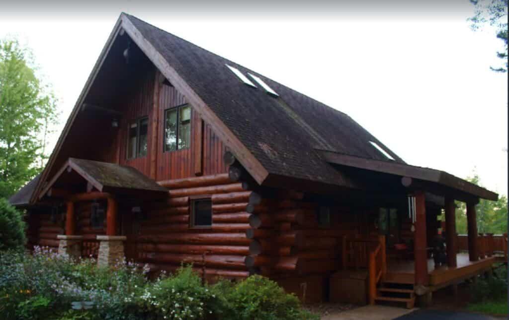 pet friendly cabin in wisconsin clear lake