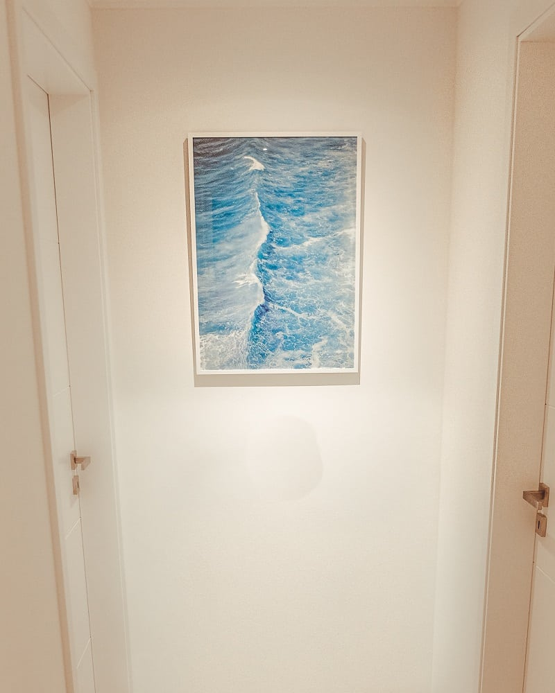 how to bring the outdoors home, ocean print
