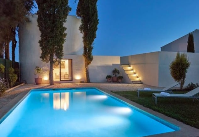 Best Airbnb in Algarve for Couples, pool side view of Depósito d'Água