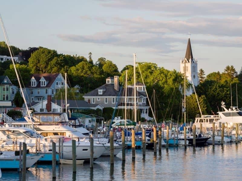 Mackinac Island, Michigan, weekend getaway to wisconsin