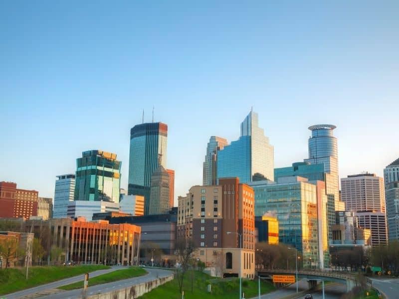 Minneapolis, Minnesota, midwest weekend getaways