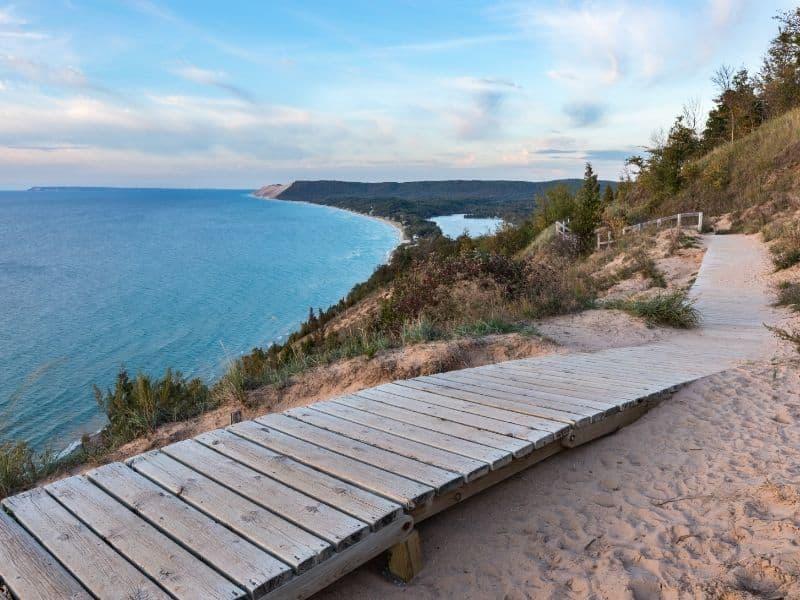 Sleeping Bear Dunes, Michigan, weekend getaway to michigan