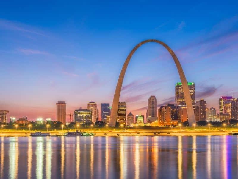 St. Louis, Missouri, weekend getaway to wisconsin
