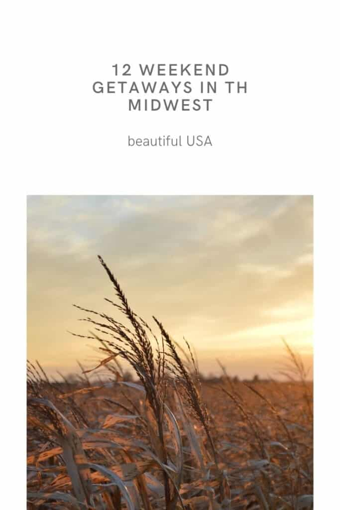 Are you looking for the best Midwest weekend getaways? This is the ultimate list when looking for getaways in the Midwest including nature escapes in the Midwest, cities in the Midwest or hidden gems in the Midwest. Many of these destinations also make perfect romantic getaways in the Midwest or a weekend getaway in the Midwest with kids. Midwest weekend trips are the best way to enjoy this beautiful are of the USA. #midwest #midwestgetaways #midwesttrips #midwestweekendtrips #usa #wisconsin #chicago