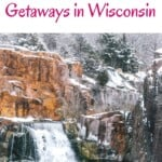 Are you looking for the best Wisconsin winter getaways? This is the ultimate selection of dreamy winter Wisconsin getaways for the whole family, couples or active travelers. There are so many things to do in Wisconsin in winter that it might be hard to choose. This list includes winter in Wisconsin Dells, romantic winter cabins in Wisconsin and how to spend winter in Door County, Wisconsin. Also Lake Geneva, Wisconsin is a great winter Wisconsin getaway! #wisconsin #wisconsinwinter #wintergetaways