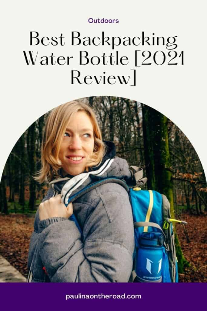 Are you looking for the best backpacking water bottle? I reviewed for you several reusable water bottles to bring on your hiking and backpacking trips. If you're looking for a lightweight water bottle, there are plenty of options. Even if you're looking for a wide mouth or small mouth bottle to bring on your hikes, this comparison guide will show you the best options to bring. Stainless steel water bottles are a must on every hiking trip. #hikingday #stainlesssteel #waterbottle