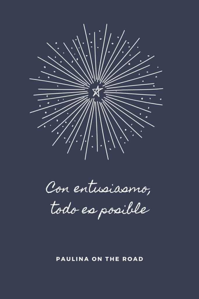 Con entusiasmo, todo es posible