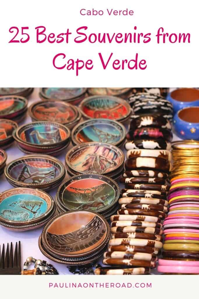 Are you looking for the best gifts and souvenirs from Cape Verde? This is the ultimate gift guide and shopping guide to Cape Verde. No matter whether you're looking for a Cape Verde travel guide, Cape Verde food or clothes from Cape Verde...this is the complete guide of souvenirs from Cape Verde. Find ingredients for Cape Verde recipes and inspiration for Cape Verde tattoos. Cape Verde islands hold many treasures and among them cape Verdean music. Find a list here! #capeverdeshoping #capeverde