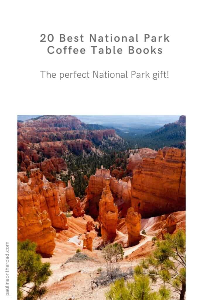 Are you looking for the best national park coffee table books? This guide is a handpicked selection of beautiful coffee table books when looking for gifts for National Park lovers and fans. It's also a great way to create National Park Decor at your home or if you want to improve your National Parks photography. Indeed a National Parks aesthetic is perfect to decorate your living room with outdoorsy vibes. There's plenty of choices when it comes to National Parks gift ideas! #nationalpark #book