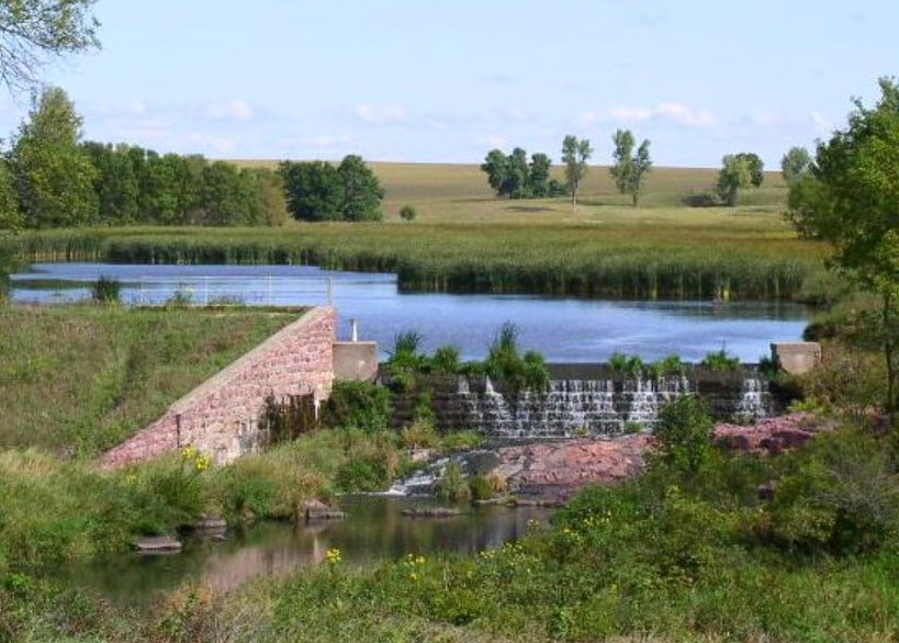 Best Mountain Bike Trails in South Wisconsin, view of Blue Mound State Park – Blue Mounds