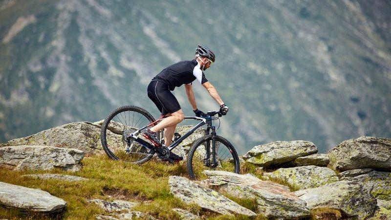 Best Mountain Bike Trails in Wisconsin, Mountain Biker on Trails, best bike trails in wisconsin